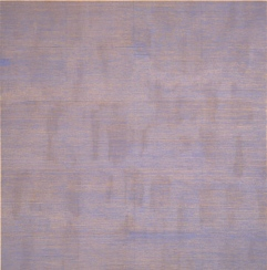 Agnes Martin Falling Blue 1963