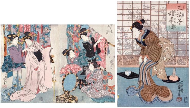 utagawa-kuniyoshi-women-donne